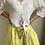 Thumbnail: Pantalon lin jaune