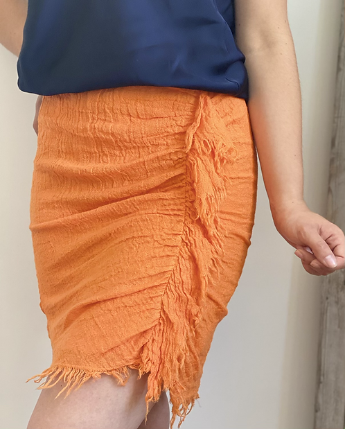Jupe ALEXIA orange