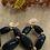 Thumbnail: Boucles d'oreilles  COACHELLA noir