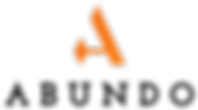 Abundo Logo Sunet A Black Name - Wide.pn