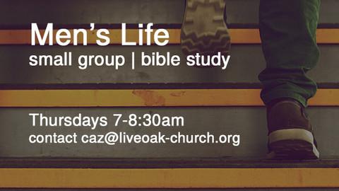 Men's Life Bible Study