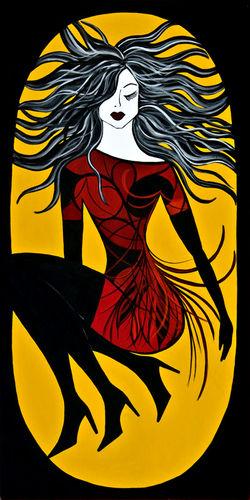 Crocus Girl by Debra Haden
