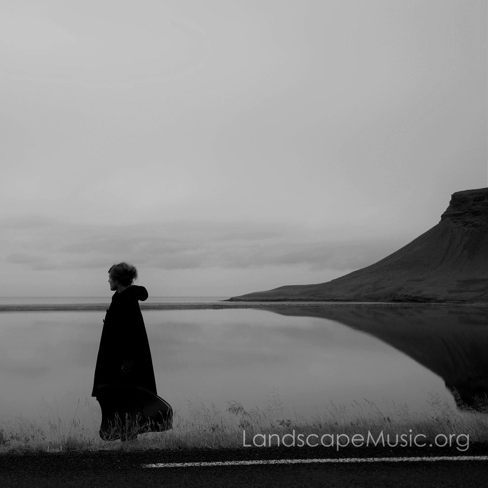 'Like a sculptor i shape sounds into cinematic imagery / 'minimal harp' reflects and evokes landscape, nature & place.'