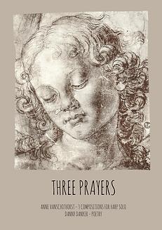 three prayers harPoetry music book