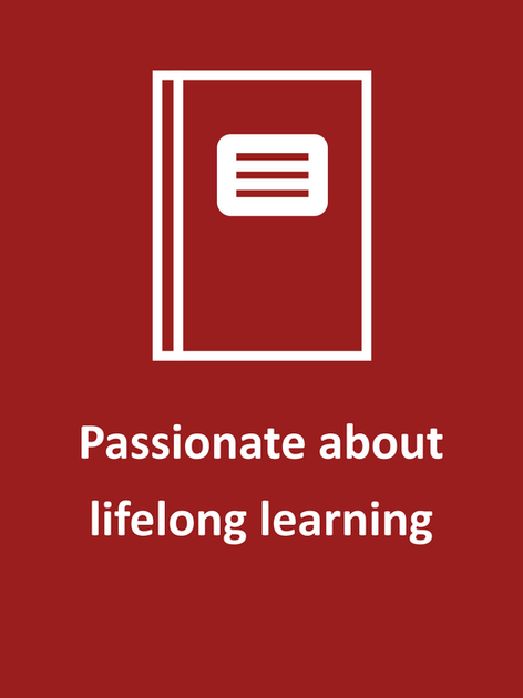 Passionate about lifelong learning.