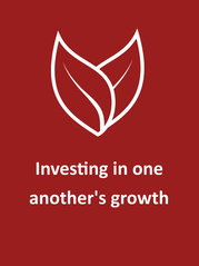 Investing in one another's growth.