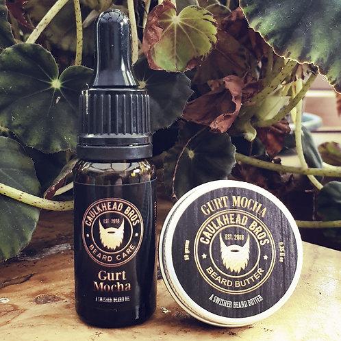 Gurt Mocha Beard Oil & Butter Combo Set