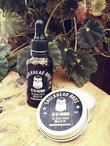 Vectis Warrior Beard Oil & Butter Combo