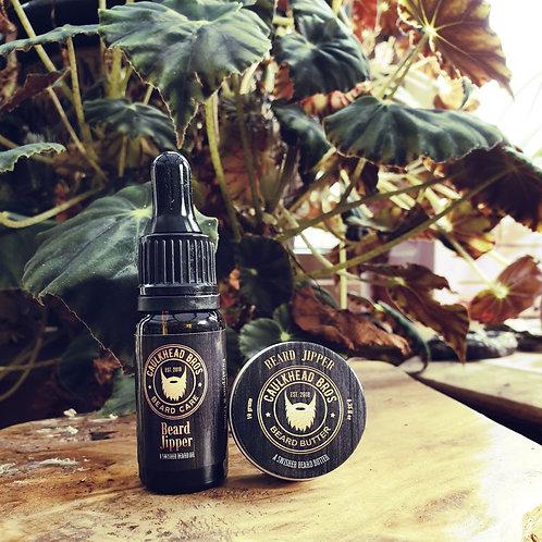 Beard Jipper Beard Oil & Butter Combo Set