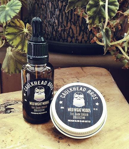 Wild Wight Woods Beard Oil & Butter Combo