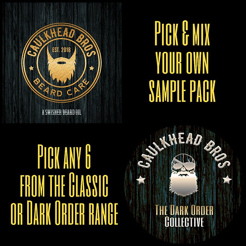 Beard Oil Sample Set - Pick & Mix