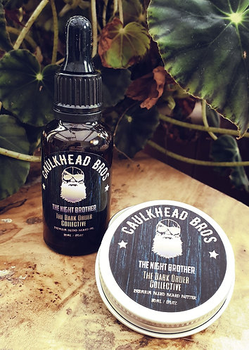 The Night Brother Beard Oil & Butter Combo