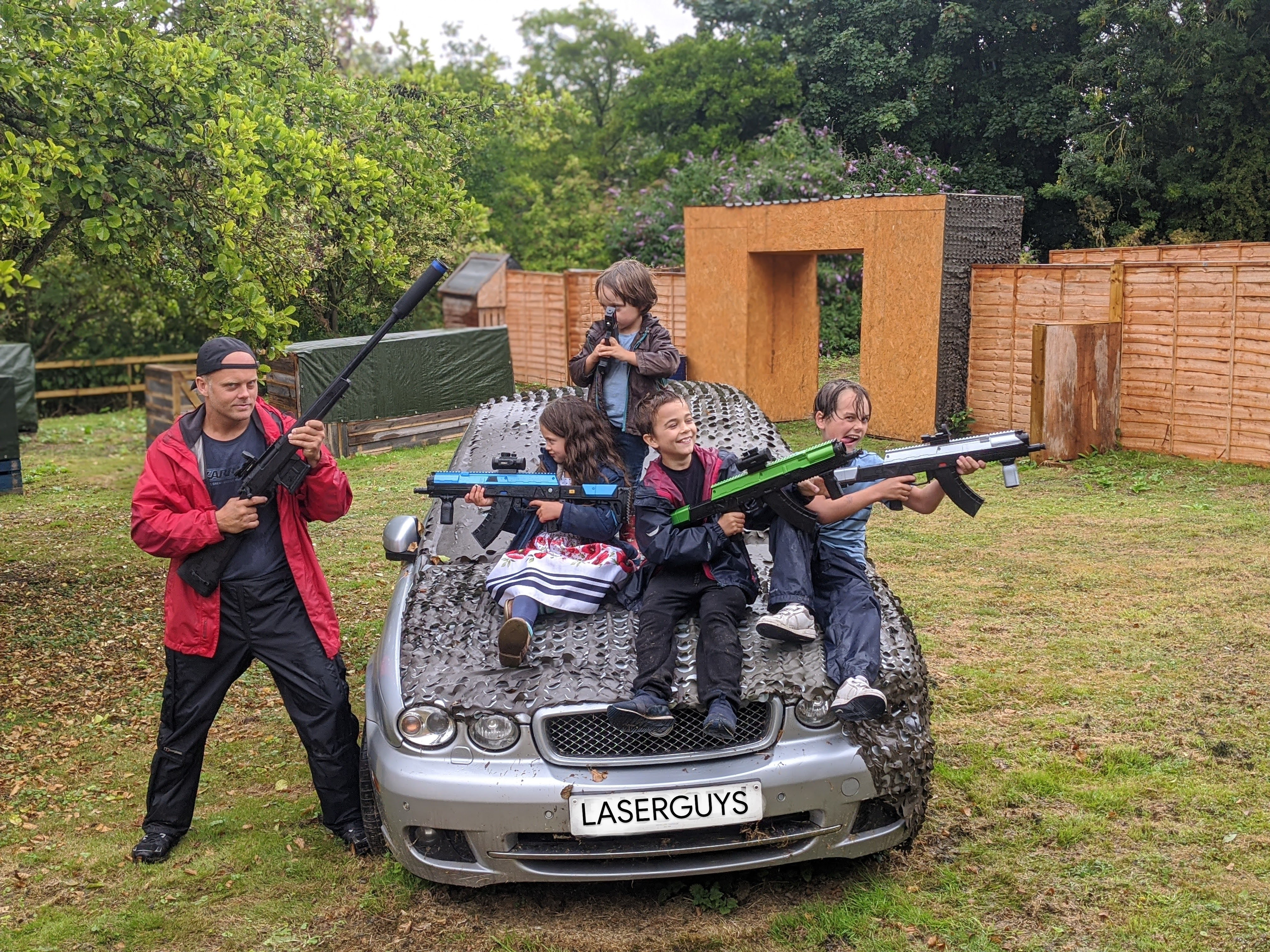 Weekday Laser Tag Party