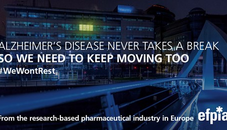 EFPIA member companies join forces to launch the EFPIA Alzheimer's disease Platform
