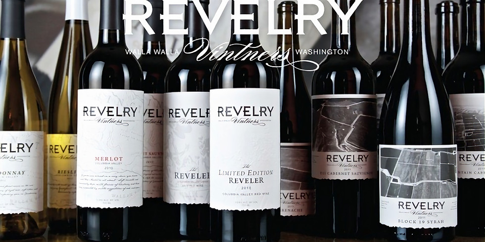 Join us for an exclusive night at Bella's for a Revelry wine tasting paired with hors d'oeuvres (1)
