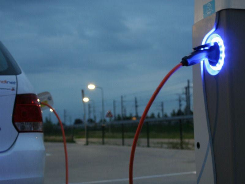 Oplaadpunt elektrische auto
