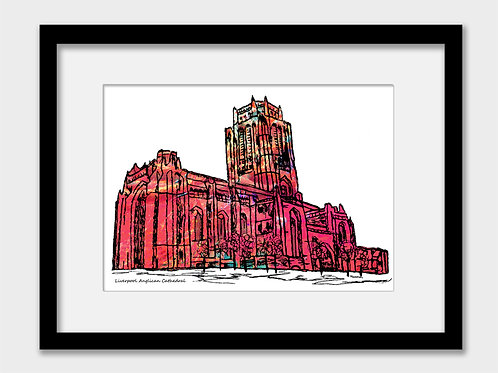 Liverpool Anglican Cathedral Print
