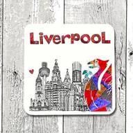 Liverpool city coaster - Tina Leahey