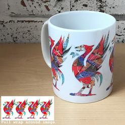 Liver bird mug - Tina Leahey Designs