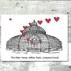 Liverpool Palm House - Tina Leahey Designs
