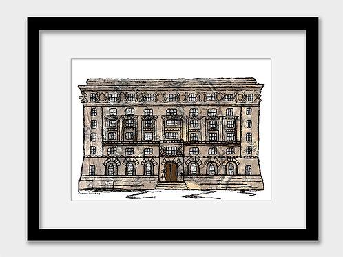 Cunard building, Liverpool print