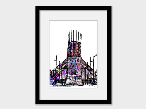 Liverpool Metropolitan Cathedral Print