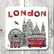 London town coaster - tina leahey