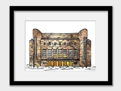 Liverpool Philharmonic Print
