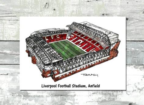 LFC stadium - Tina Leahey Designs