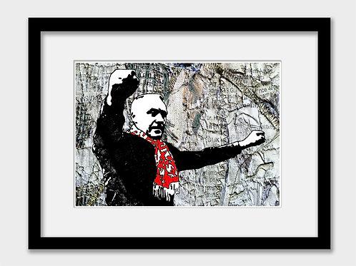 Bill Shankly, Liverpool FC Print - YNWA
