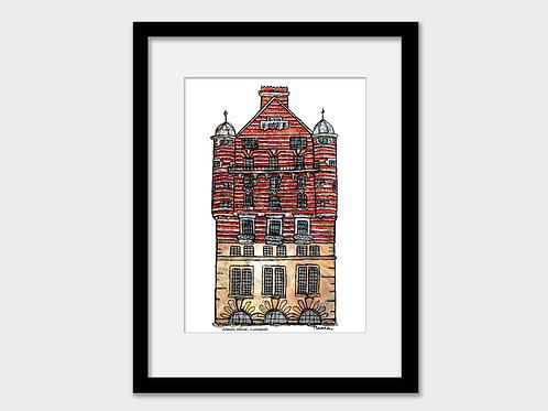 Albion House Hotel, 30 James Street, Liverpool Print