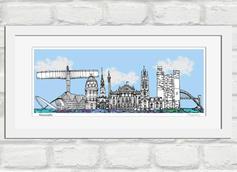 Newcastle skyline