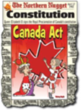 cartoon of Royal Proclamation QEII and P