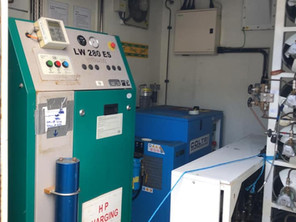 Our new Nitrox membrane machinery van