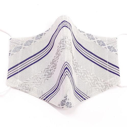 紗織シルクマスク(献上白A)