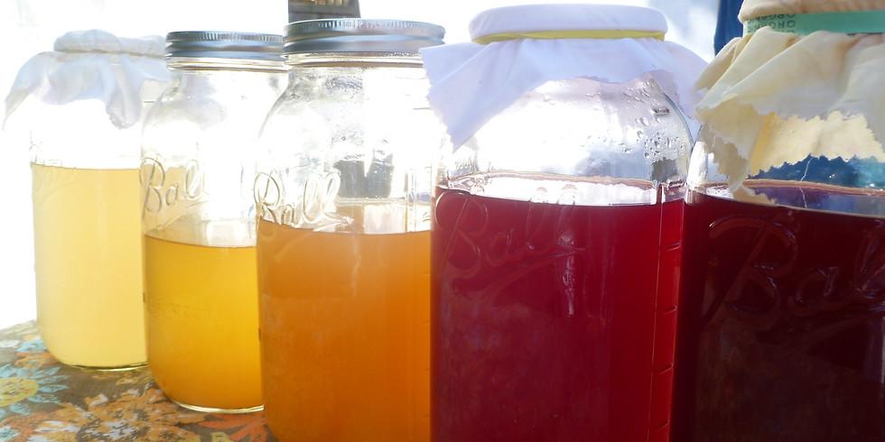 Fruit and Herbal Vinegars