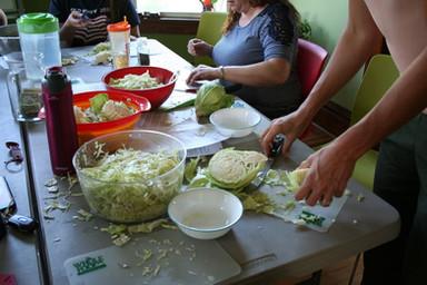 Lacto-Fermentation: Pickles + Kraut
