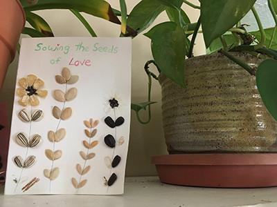 Seed Art Valentine