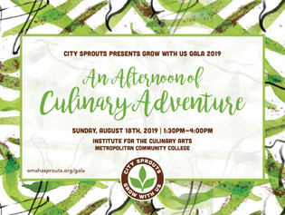 An Afternoon of Culinary Adventure: City Sprouts Annual Grow With Us Gala