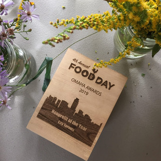 Food Day Omaha Award