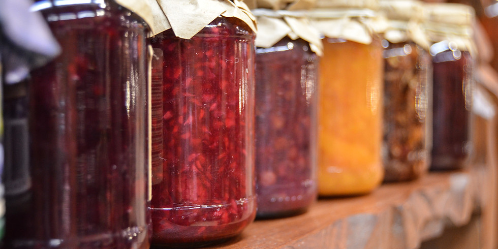 Canning Jams + Jellies