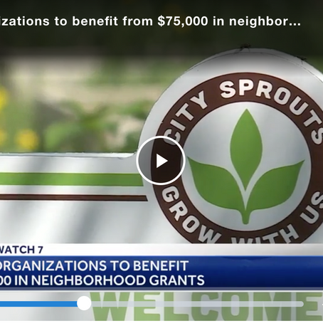 City Sprouts in the News: Mayor's Grant Supports Urban Farming Internship