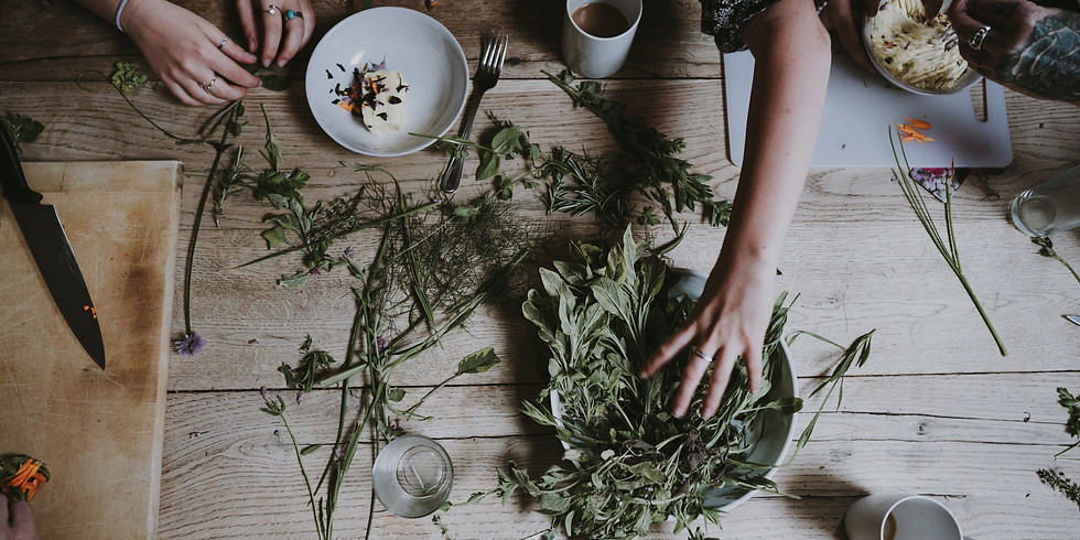 Drying + Preserving Herbs