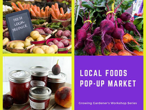 City Sprouts in the News: Local Foods Pop-Up Market