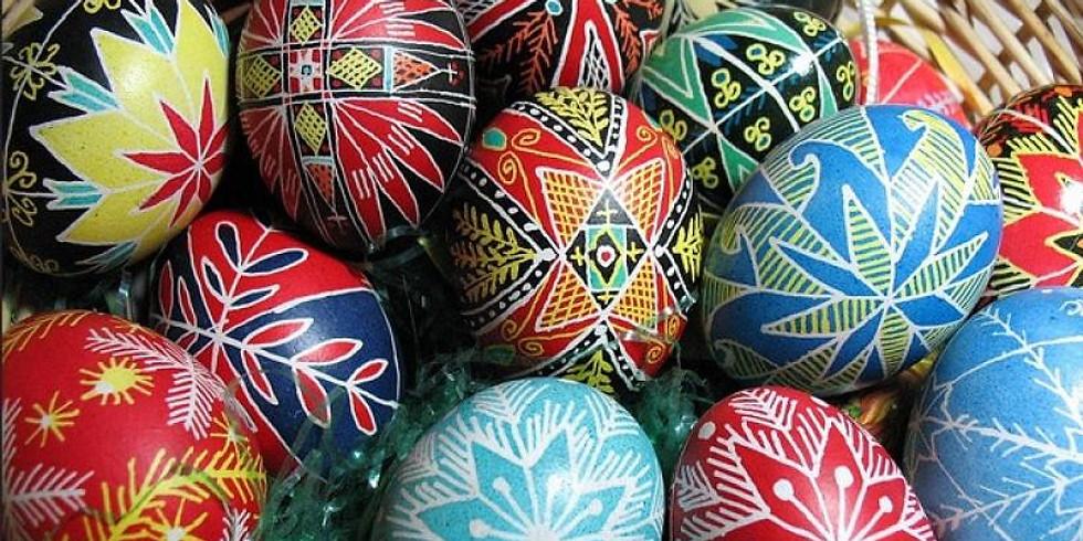 Pysanka: Ukrainian Egg Decorating
