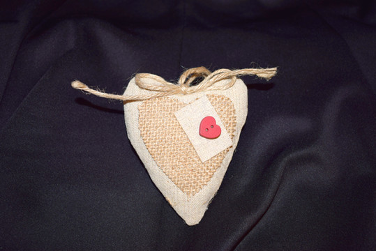 A Heart Cushion