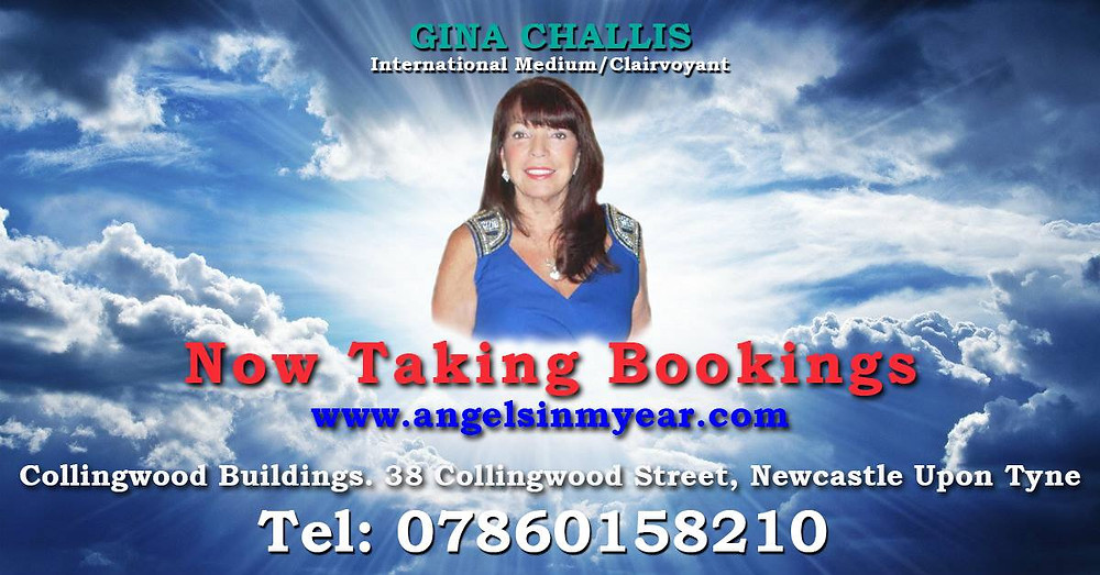 Gina Challis - International Medium and Clairvoyant