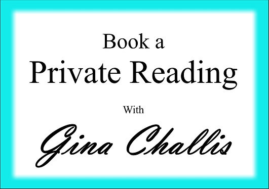 Book a Reading with Gina Challis
