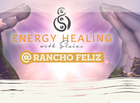 ENERGY HEALING with Elaine Whillock