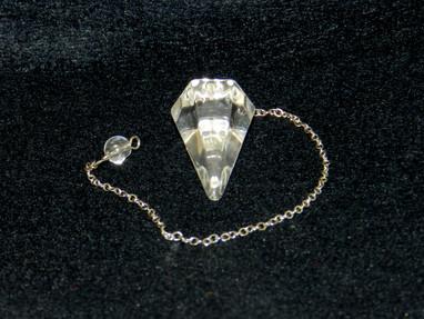 Clear Crystal Pendulum